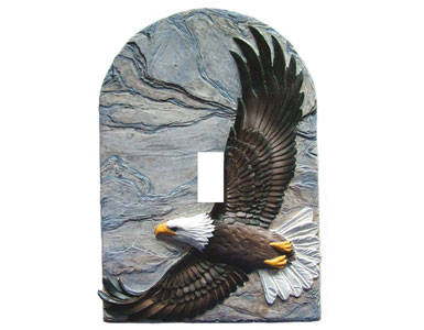 Eagle Switch Plate / 1 Toggle