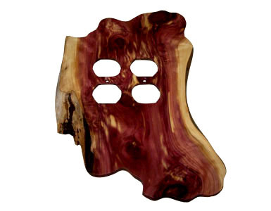 Stoney Ridge Cedar Outlet Cover / 2 Duplex