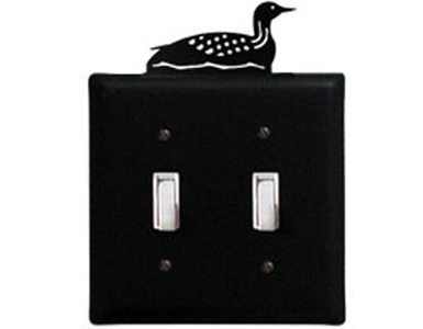 Loon Wrought Iron Switchplate Cover
