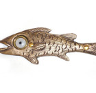 Garth Fish Doorbell – Bronze