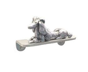 Fifi the Poodle U-Shaped Cabinet Pull 3″ CC – Pewter
