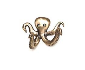 Olga Octopus Hook – Bronze