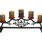 Victorian – Fireplace Pillar Candle Holder