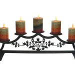 Fireplace Candle Holders