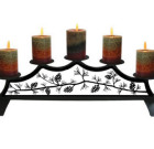 Pinecone – Fireplace Pillar Candle Holder