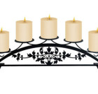 Victorian – Table Top Pillar Candle Holder
