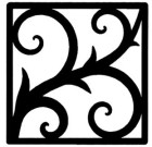 Solid Wrought Iron Wall Art Style 213