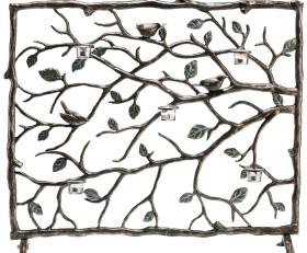 Bird & Branch Firescreen Screen – Aluminum