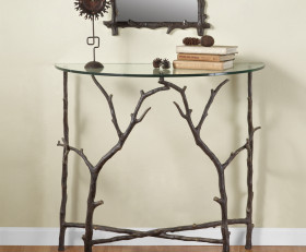 Branch Entry Table – Aluminum & Glass