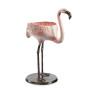 Festive Flamingo Planter and Beverage Holder