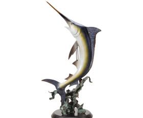 Magnificent Marlin Sculpture
