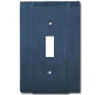 Brass Accents Contemporary Style Oil Rubbed Bronze Switchplate