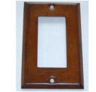 Sheet Metal – Rust Finish Switch Plate