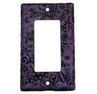 Good Night Irene Neo-Fossil – Purple Switch Plate