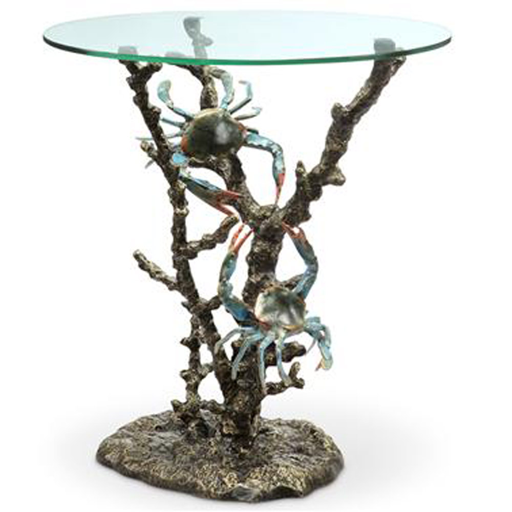 Crabs And Coral End Table 2 ...