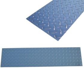 Diamond Plate Aluminum Kick Plate – Silver