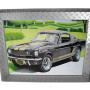 "Diamond Plate Aluminum Picture Frame 3"" Trim / 20"" x 24"""