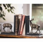 Deer Bookends Pair