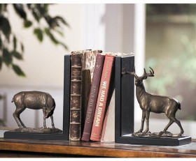 Deer Bookends Pair