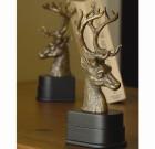 Deer Head Bookends Pair